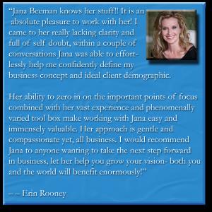 Erin Rooney Testimonial
