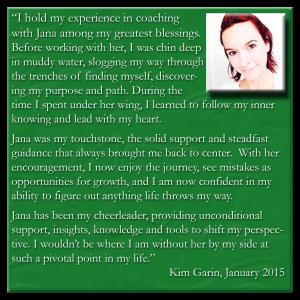 Kim Garin Testimonial
